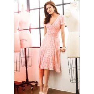 Eva Mendes NY&Co Pink Heart Dress